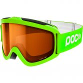 Poc Sports - Iris Skibrille Kinder fluorecent green