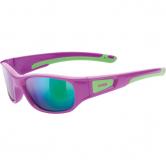 Uvex - Sportstyle 506 pink green mirror green