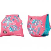 Speedo - Sea Squad Armbands Kids lava red neon blue