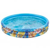 Happy People - Paw Patrol Paddling Pool blue