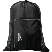 Speedo - Deluxe Vent Mesh Bag black white