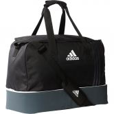 adidas - Tiro Teambag Bottom Compartment M Unisex black dark grey white