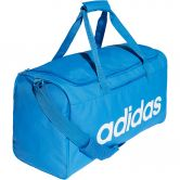 adidas - Linear Core Duffel Bag M true blue white