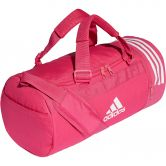 adidas - Convertible 3-Stripes Duffel Bag S real magenta white