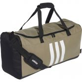 adidas - 3-Stripes Duffel Bag M legacy green black white