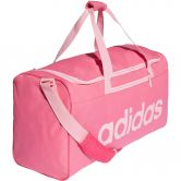adidas - Linear Core Duffel Bag Medium semi solar pink true pink
