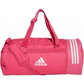 adidas - Convertible 3-Stripes Duffel Bag M real magenta white
