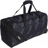 adidas - Linear CF Duffel Bag M black white