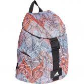 adidas - Flap Backpack Women sky tint glory pink black white