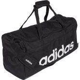 adidas - Linear Duffel Bag M black white