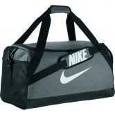 Nike - Brasilia Medium Trainingstasche Unisex flint grey black white