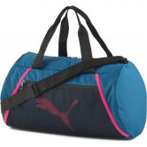 Puma - AT ESS Barrel Sporttasche digi blue puma black luminous pink