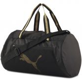 Puma - AT ESS Barrel Sporttasche puma black bright gold