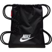 Nike - Heritage 2.0 Trainingsbeutel Unisex schwarz weiß