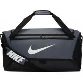 Nike - Brasilia Trainingstasche Medium 9.0 flint grey black white