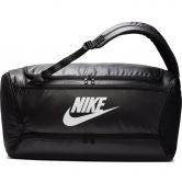 Nike - Brasilia Convertible Duffel Bag/Backpack black white