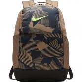 Nike - Brasilia Training Backpack Medium AOP SP20 khaki dark smoke grey ghost green