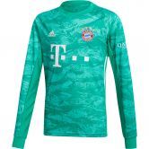 adidas - FC Bayern Home Goalkeeper Jersey 19/20 Kids core green