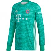adidas - FC Bayern Home Goalkeeper Jersey 19/20 Men core green
