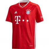 adidas - FC Bayern Home Jersey 20/21 Boys fcb true red