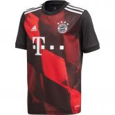 adidas - FC Bayern CL Trikot 20/21 Jungen schwarz