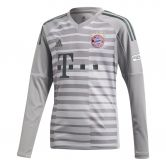 adidas - FC Bayern Home Goalkeeper Jersey 18/19 Kids grey one light granite utility ivy
