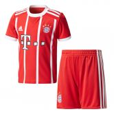 adidas - FC Bayern Home Mini-Kit 17/18 Kinder rot