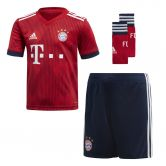 adidas - FC Bayern Home Mini Kit 18/19 Kids fcb true red strong red white