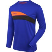 Reusch - Match Pro Longsleeve Padded Junior Goalkeeper Shirt Kids blue black shocking orange