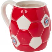 FC Bayern - Tasse Football red white