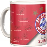 FC Bayern - Mug Signature 2018/19 red