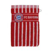 FC Bayern - Waschhandschuh FC Bayern rot weiß