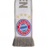 adidas - FC Bayern Scarf white lgh solid grey ash