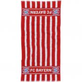 FC Bayern - Towel FC Bayern 100x50cm red white