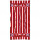 FC Bayern - Towel FC Bayern 140x70cm red white