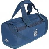 adidas - FC Bayern Duffel Bag night marine trace blue lgh solid grey