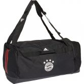 adidas - FC Bayern Duffel Bag M black fcb true red white
