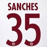 FC Bayern - Flock CL Sanches 16/17