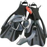 Aqua Lung Sport - Schnorchelset Proflex FX Maske, Schnorchel, Flossen Unisex grau