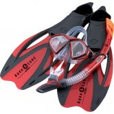 Aqua Lung Sport - Proflex X Snorkel Set red