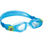 Aqua Sphere - Moby Swimming Goggles Kids aqua lime buckles