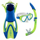 Aqua Lung Sport - Set Urchin Kids bright green bright blue