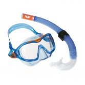 Aqua Lung Sport - Combo Mix Snorkel Set blue orange clear
