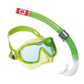 Aqua Lung Sport - Combo Mix Snorkel Set bright green white clear