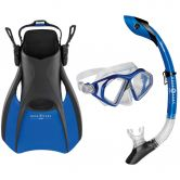 Aqua Lung Sport - Trooper Snorkel Set Unisex blue black
