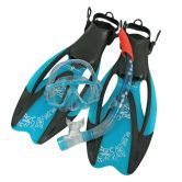 Aqua Lung Sport - Set Diva LX Schnorchelset Damen aqua