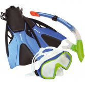Schildkröt Fun Sports - Cayman Snorkel Set blue green