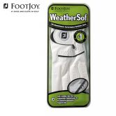 Footjoy - Glove Weathersoft links Damen weiß