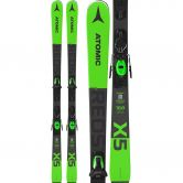 Atomic - Redster X5 Green 20/21 with bindings