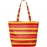 Seafolly - Baja Stripe Neoprene Tote saffron